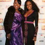 with Sheryl Lee Ralph (Dreamgirls Opening Night LA)