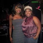 with Chandra Wilson (Grey's Anatomy)