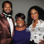 With Sherri Shepherd (The View) & Brandon Victor Dixon (Motown, Shuffle Along)